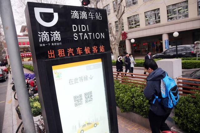 Didi là dịch vụ rất phổ biến ở Trung Quốc