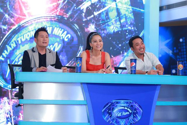 Bộ ba giám khảo trên ghế nóng vòng Audition khu vực miền Bắc năm nay.