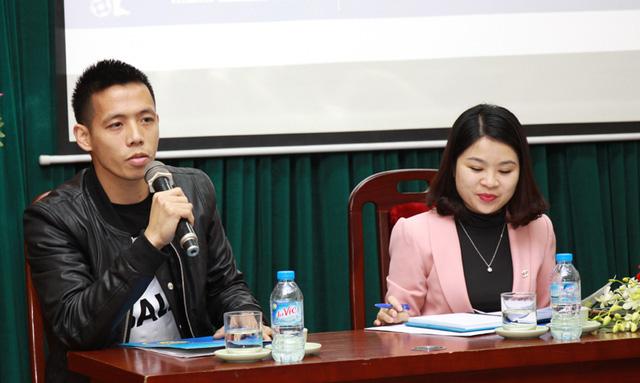 Cầu thủ Văn Quyết cho biết sẵn sàng chia sẻ kinh nghiệm bóng đá và luyện tập cùng các cầu thủ tham gia thi đấu