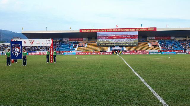 Sân Cẩm Phả muốn chuẩn bị những điều kiện tốt nhất để tổ chức trận đấu