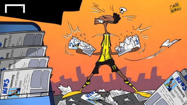 Aubameyang tỏ ra bực tức vì thông tin cho rằng nếu rời Dortmund anh chỉ đến Real Madrid. Tiền đạo người Gabon cho rằng lời của anh đã bị báo chí xuyên tạc.