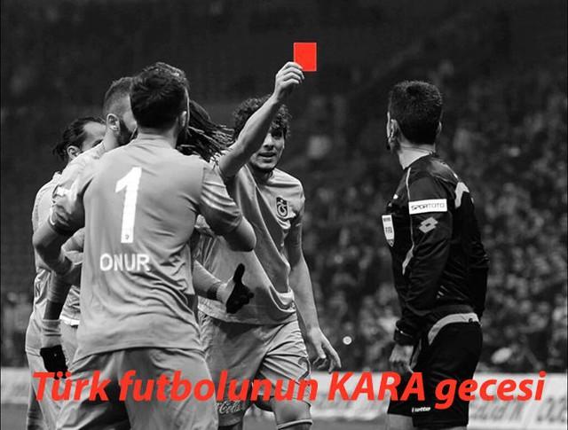 """Trabzonspor gọi trận đấu gặp Galatasaray là """"Một đêm đen tối của bóng đá Thổ Nhĩ Kỳ"""""""