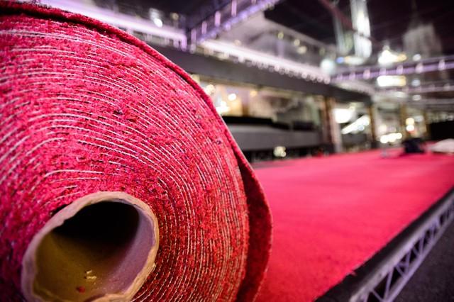Thảm đỏ Oscar đã sẵn sàng chào đón những nghệ sĩ tài năng nhất thế giới về đây quy tụ