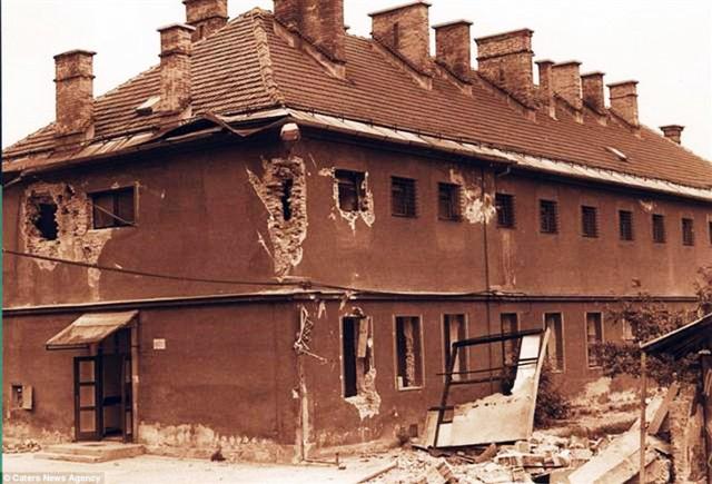 Khách sạn Celica khi còn là nhà tù.