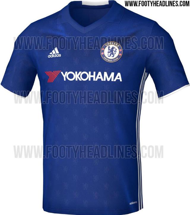 Mẫu áo mới của Chelsea mang phong cách hiện đại, khỏe mạnh