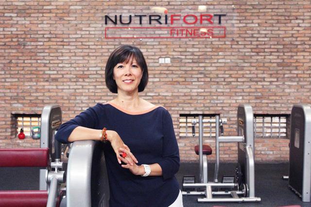 Chuyên gia Nicole Hankins - Giám đốc Nutrifort Fitness.