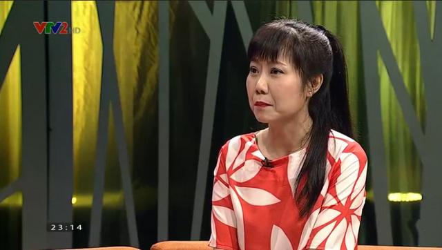 """Nghệ sĩ hài Thu Hương là một trong những khách mời của talkshow """"Chuyện ấy là chuyện nhỏ"""""""