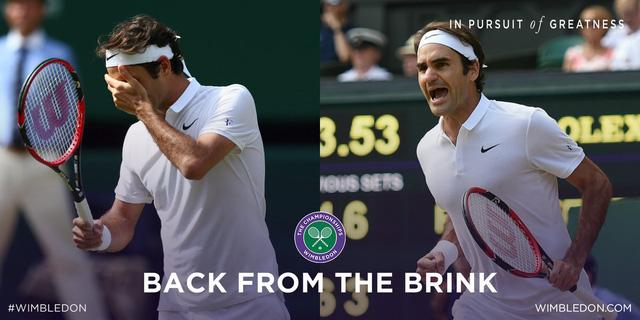 Chiến thắng ngoạn mục và đầy cảm xúc của Federer