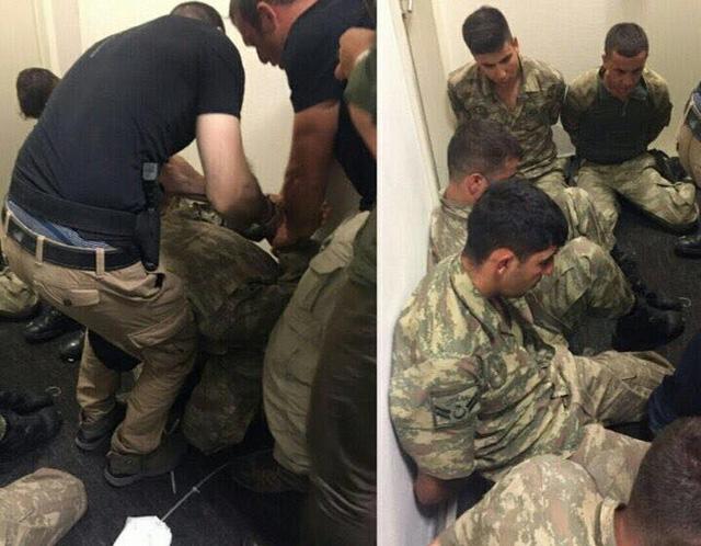 Theo những thông tin mới được cập nhật, một số người lính đã bị bắt giữ khi cố tiếp cận dinh Tổng thống.