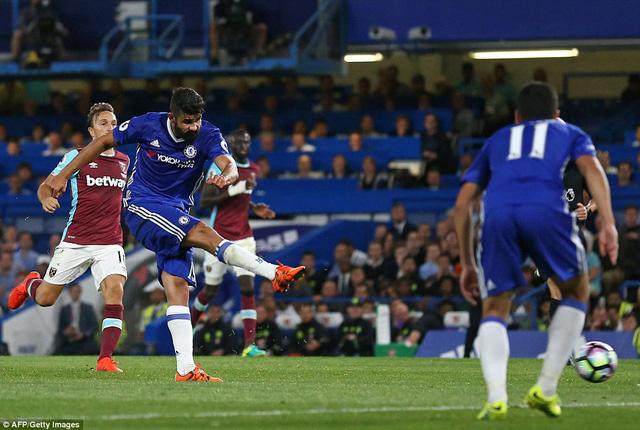 Diego Costa tỏa sáng để mang về 3 điểm cho Chelsea