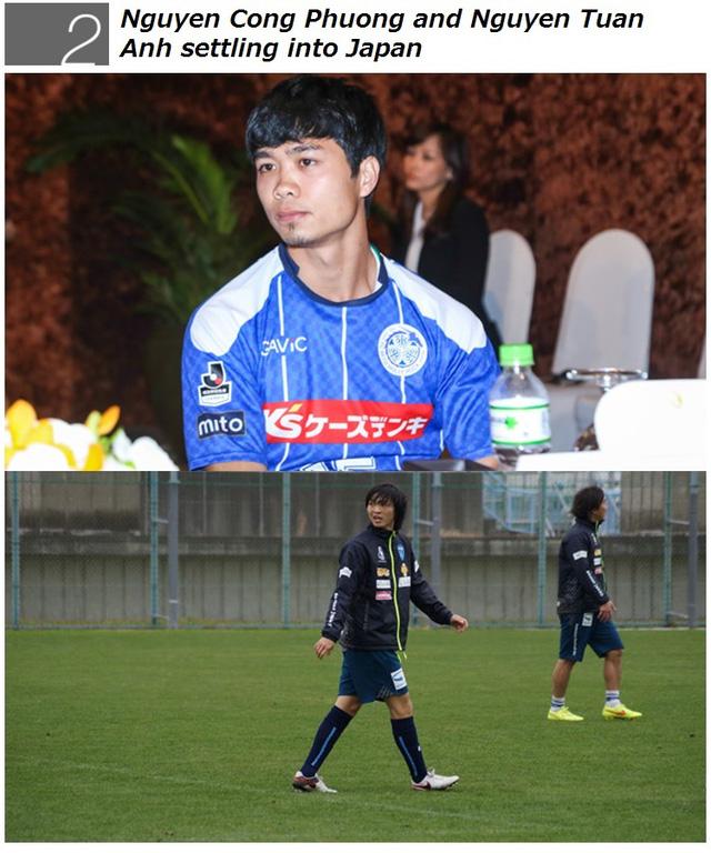 Tin Công Phượng và Tuấn Anh sang Nhật Bản được xếp là sự kiện nổi bật thứ 2 của J.League trong tháng 2