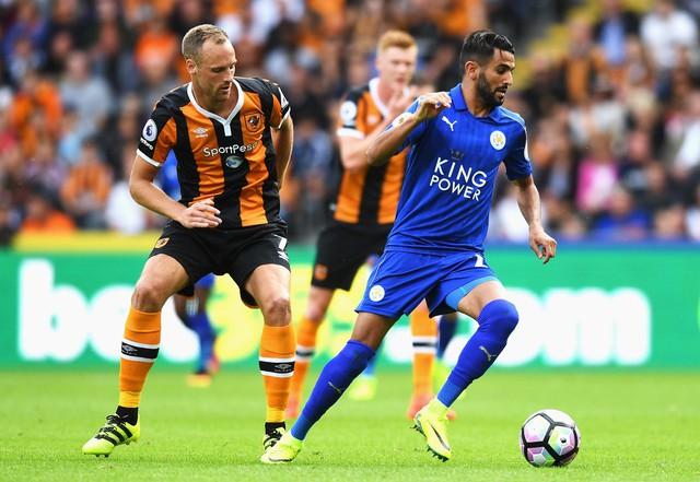 Mahrez trong trận khai màn mùa giải mới của Leicester City