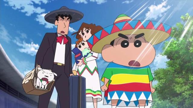Tác phẩm hoạt hình thứ 23 về nhân vật cậu bé bút chì tiếp tục nằm trong top 10 phim ăn khách tại Hàn Quốc. Ảnh: Toho