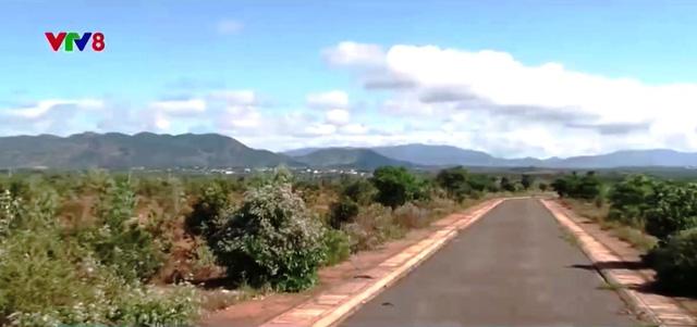 Cụm công nghiệp Đăk Djrăng ở huyện Mang Yang, tỉnh Gia Lai sau 5 năm hoạt động vẫn chỉ là bãi đất trống.