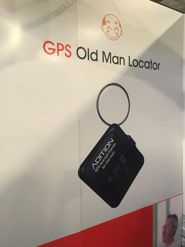 GPS Old Man Locator