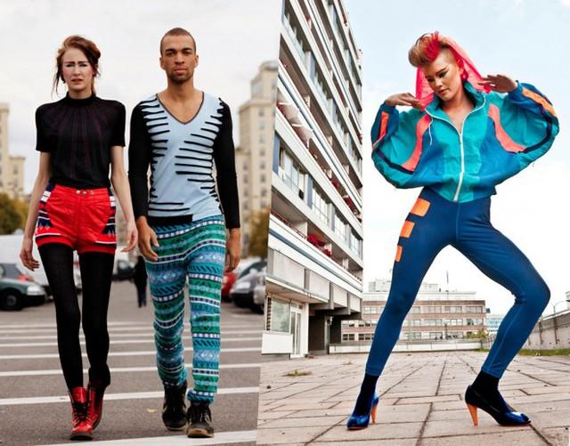 Kiểu dáng, chất liệu trang phục tái chế nâng cấp không hề thua kém các sản phẩm thời trang thông thường. (Ảnh: Upcycling Fashion)