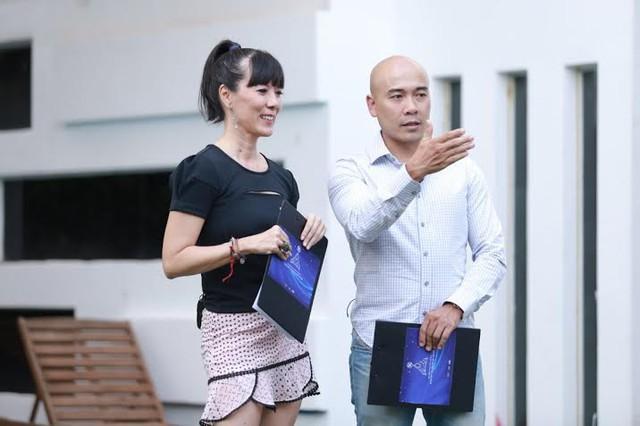 Chuyên gia dinh dưỡng Nicole Hankins và Vua đầu bếp Ngô Thanh Hòa.