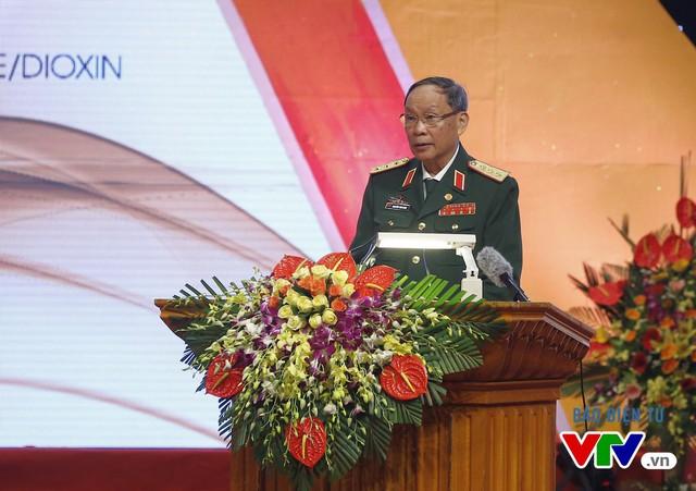 Chủ tịch Hội Nạn nhân chất độc da cam/dioxin Việt Nam (VAVA), Thượng tướng Nguyễn Văn Rinh Phát biểu khai mạc buổi lễ