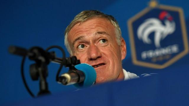 HLV Deschamps rất tự tin vào suất đi tiếp của ĐT Pháp tại bảng A. Ảnh: Getty