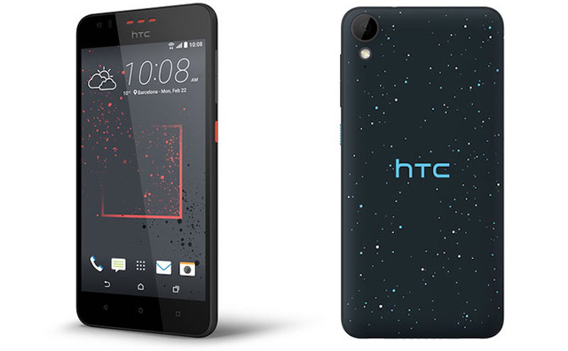 Mẫu HTC Desire 825 sở hữu màn hình 5.5 inch