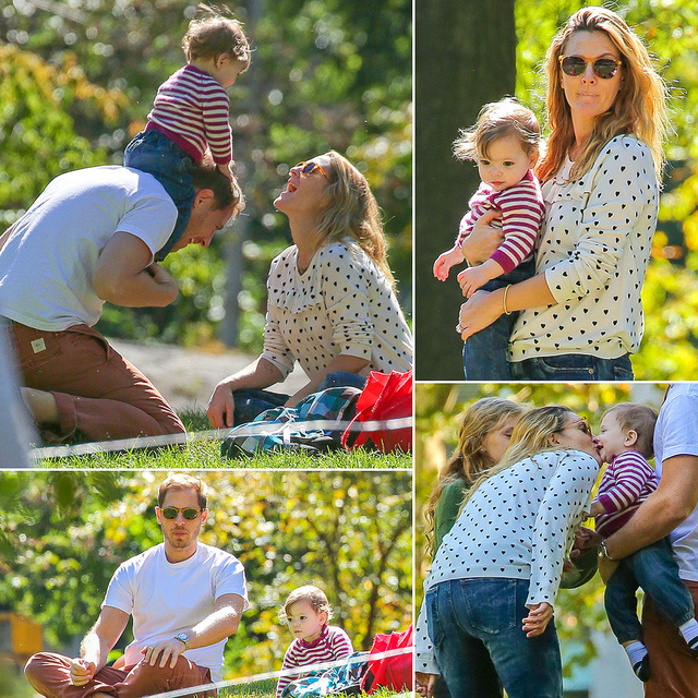 Những hình ảnh hạnh phúc một thời của gia đình Drew và Will.
