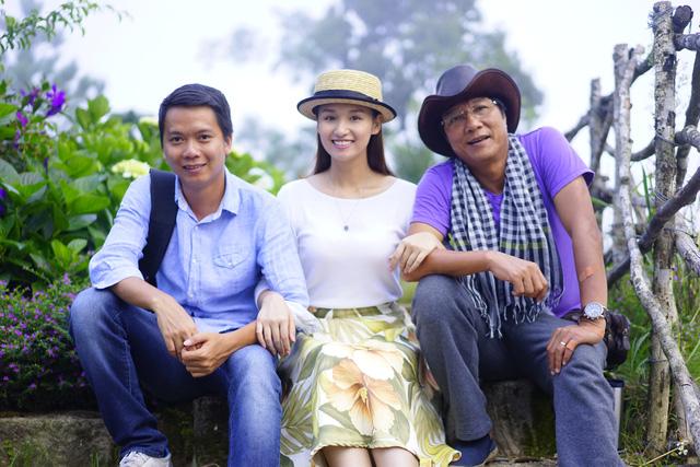 Đạo diễn Bùi Tiến Huy, diễn viên Lã Thanh Huyền và đạo diễn Trọng Trinh.