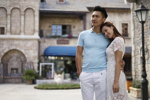 Mạnh Trường và Lã Thanh Huyền trong phim Zippo, Mù tạt và Em.