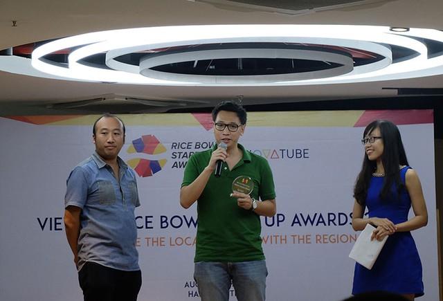 CEO Mike Trần của Ticketbox nhận giải Start-up của năm