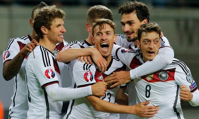 ĐT Đức luôn khiến các đối thủ phải e ngại khi đối đầu ở thời điểm hiện tại. Ảnh: Getty