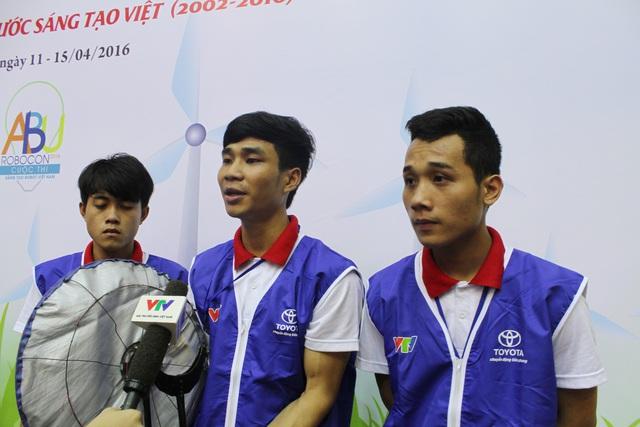Đội ĐT1 của Đại học Công nghiệp Hà Nội toàn thắng cả 3 trận của vòng loại 1 Robocon Việt Nam 2016 khu vực phía Bắc