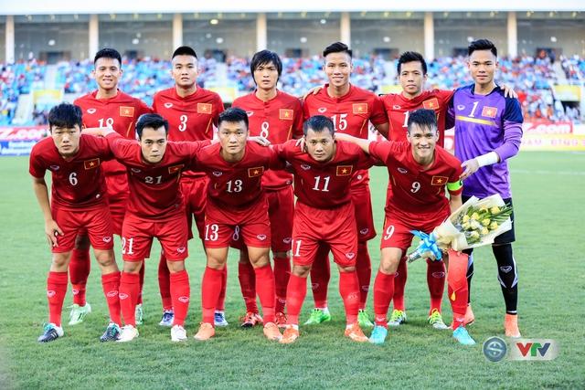 Đội hình xuất phát của ĐT Việt Nam trong trận gặp ĐT Syria.