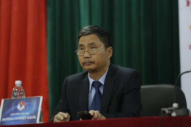 Phó Chủ tịch VFF Dương Nghiệp Khôi. Ảnh: Khánh Nguyễn/ VTV News