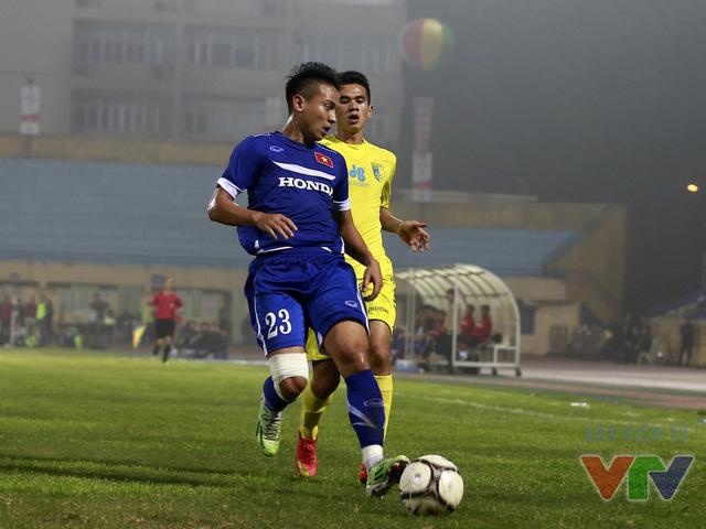 Hàng thủ Việt Nam dù chịu nhiều sức ép hơn trong hiệp 2 nhưng đã đững vững suốt 90 phút