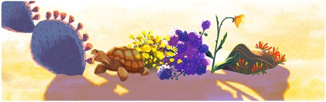 Desert and Tortoise (Sa mạc và rùa cạn)