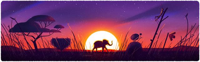 Grasslands and Elephant (Đồng cỏ và voi)