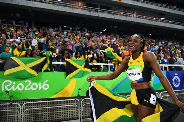 Elaine Thompson (Chạy 200m nữ - Jamaica).