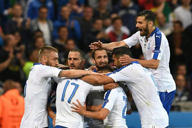 Sức mạnh của Italy là sức mạnh tập thể và bản lĩnh được dựng xây từ kinh nghiệm. Ảnh: UEFA