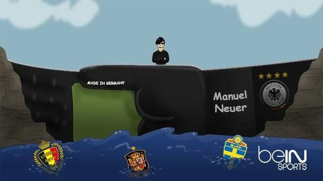 Những chiến thuyền hùng mạnh như Tây Ban Nha, Bỉ, Thụy Điển đều bị cuốn phăng bởi những con sóng lớn Azzurri nhưng đập chắn lừng lững: Neuer đã giúp Đức trụ vững.