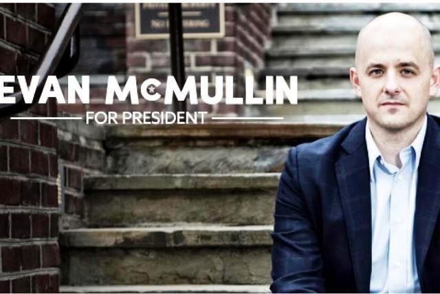 Evan McMullin tự tin vào cơ hội chiến thắng trong cuộc bầu cử Tổng thống Mỹ 2016. Ảnh: Press News