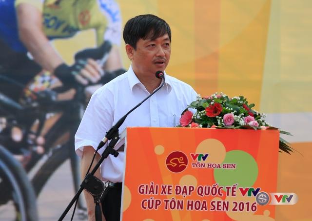 Ông Đặng Việt Dũng, Phó Chủ tịch UBND TP Đà Nẵng phát biểu tại lễ khai mạc
