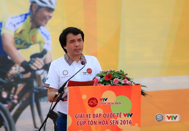 Nhà báo Phan Ngọc Tiến, Trưởng ban Sản xuất các chương trình thể thao, Đài THVN, Trưởng ban tổ chức giải phát biểu khai mạc