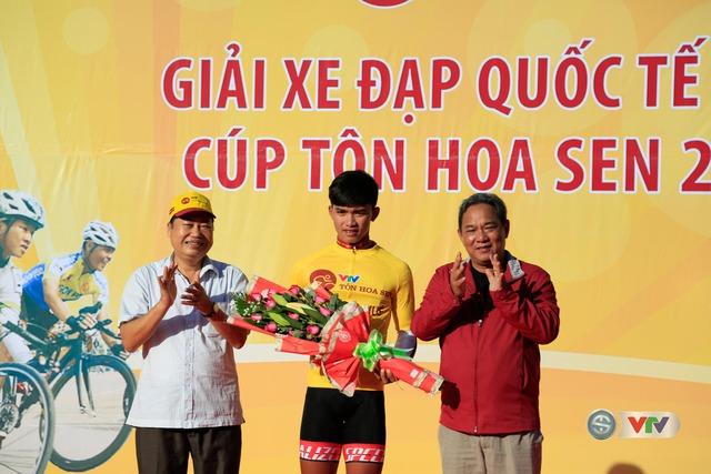 Trần Nguyễn Duy Nhân giữ áo vàng sau 2 chặng đua Giải xe đạp Quốc tế VTV Cúp Tôn Hoa Sen 2016