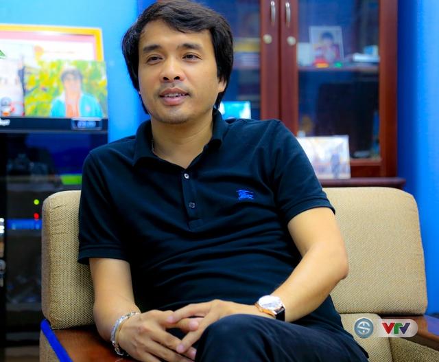 Nhà báo Phan Ngọc Tiến - Trưởng ban Sản xuất các chương trình Thể thao, Đài THVN