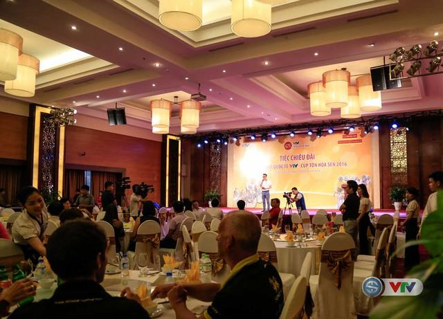 Toàn cảnh buổi tiệc chiêu đãi giải xe đạp quốc tế VTV - Cúp Tôn Hoa Sen 2016