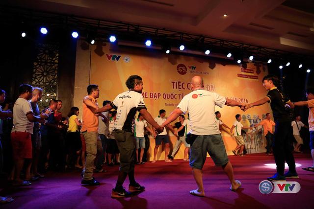 Buổi tiệc chiêu đãi của BTC Giải xe đạp quốc tế VTV – Cúp Tôn Hoa Sen đã mang lại những ấn tượng khó quên và đầy ắp kỷ niệm đẹp với các vị quan khách tham dự.