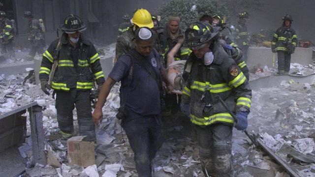 Đa số những người mắc ung thư là lực lượng phản ứng nhanh và tình nguyện viên làm việc tại hiện trường (Ảnh minh họa, ảnh: Reuters)