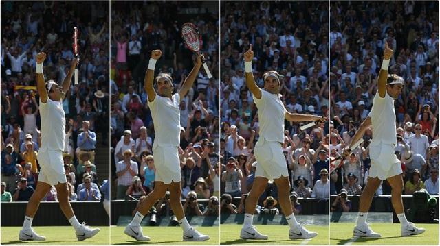 Vượt qua Cilic, Federer giành quyền tham dự trận bán kết thứ 40 tại các giải Grand Slam