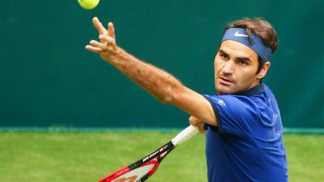 Roger Federer tiếp tục lọt vào bán kết Halle Mở rộng 2016