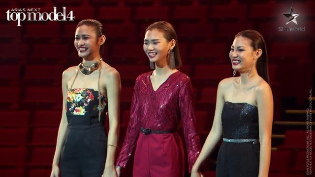 Top 3 vòng chung kết (từ trái sang): Tawan, Sang In và Patricia.