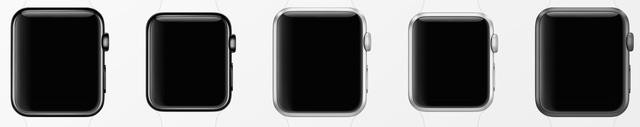 Vỏ Apple Watch với nhiều kích thước và thiết kế khác nhau